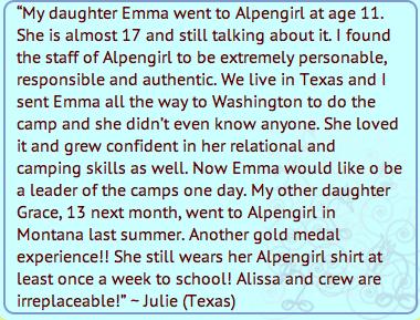 Alpengirl Camp Parent Reviews