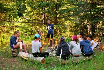 Leadership Circle at Camp