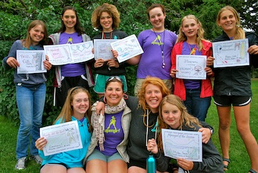 Alpengirl Awards Ceremony and Certificates