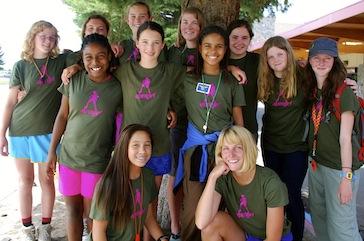 Alpengirl Camp Group Arrival