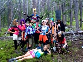 Summer camp fun activities costumes