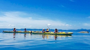 sea kayaking camp for girls in washington state