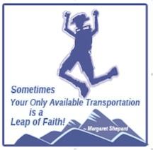 Alpengirl Camp Leap of Faith