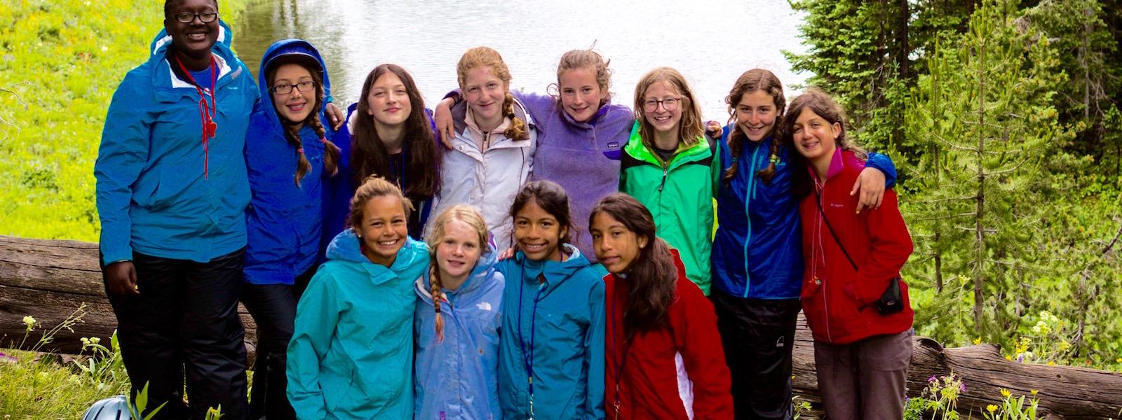 Teen Adventure Camp Group Behavior