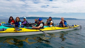 san juan islands girls camp overnight