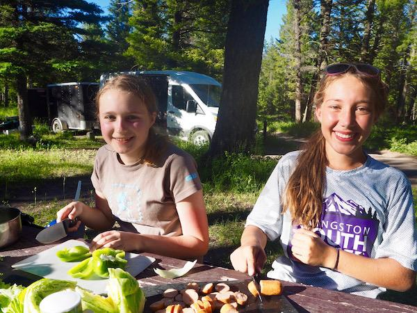 Summer Adventure Camp Food Menu And Meals Alpengirl Camp
