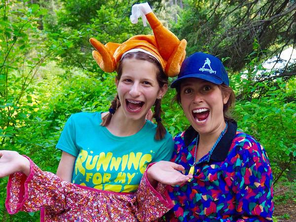 Summer Camp Staff Having Fun with Campers
