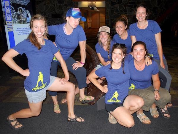 Summer Camp Staff Group Photo