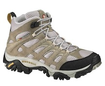 summer camp packing list hiking boot example