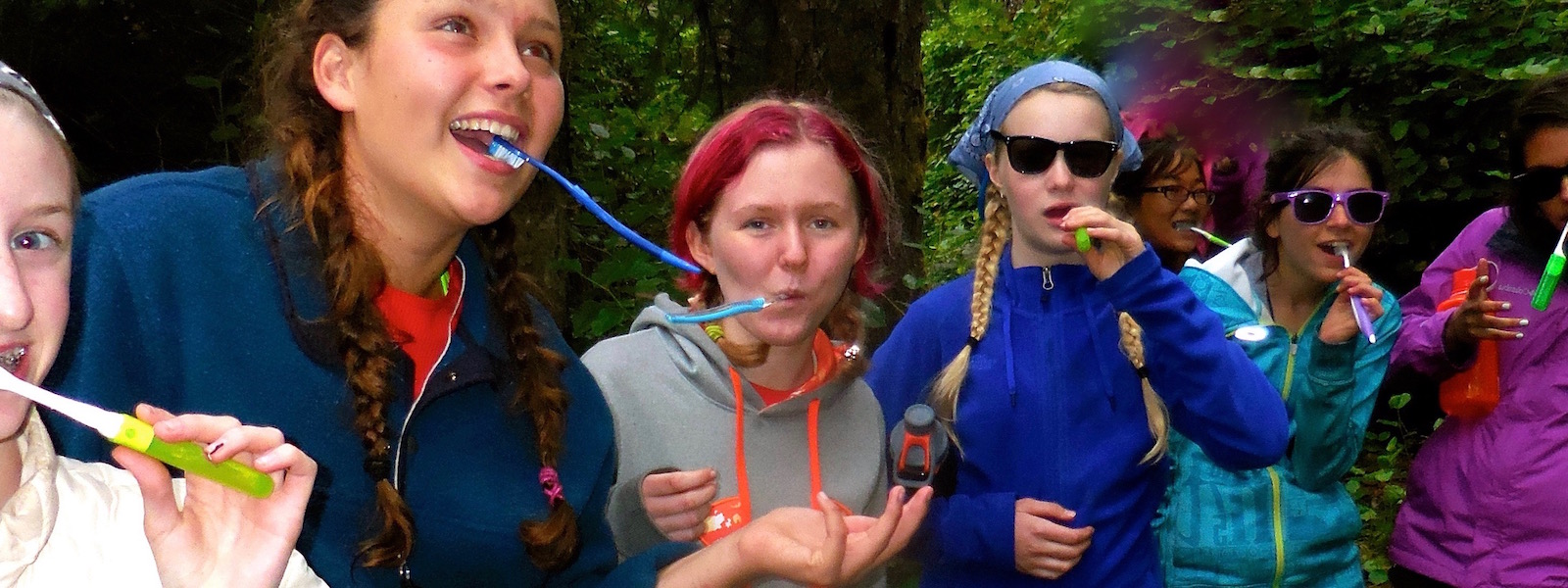Personal Hygiene at Outdoor Girls Summer Camp