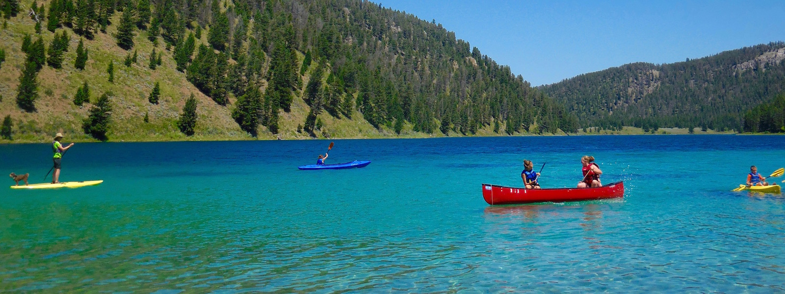 Canoe, Kayak and SUP Summer Camp