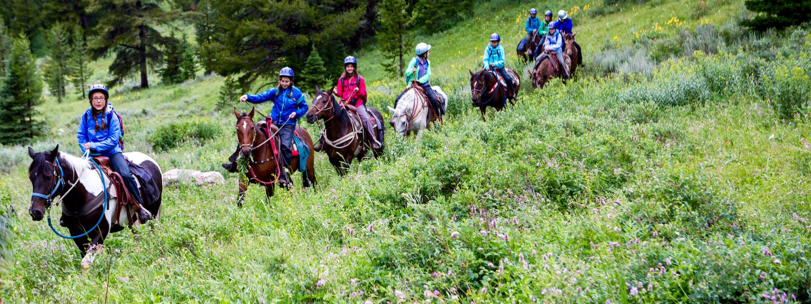 Girls Horse Riding Overnight Camp