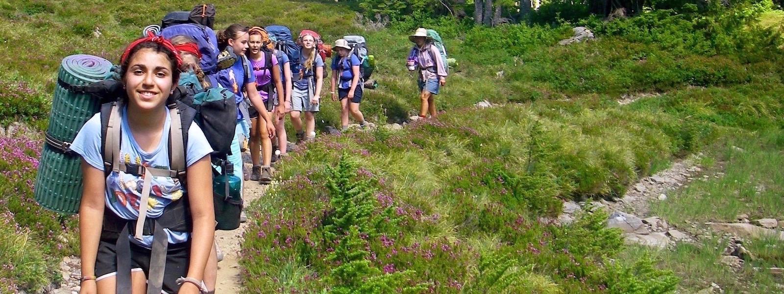 Girls Leadership Summer Camp Outdoors