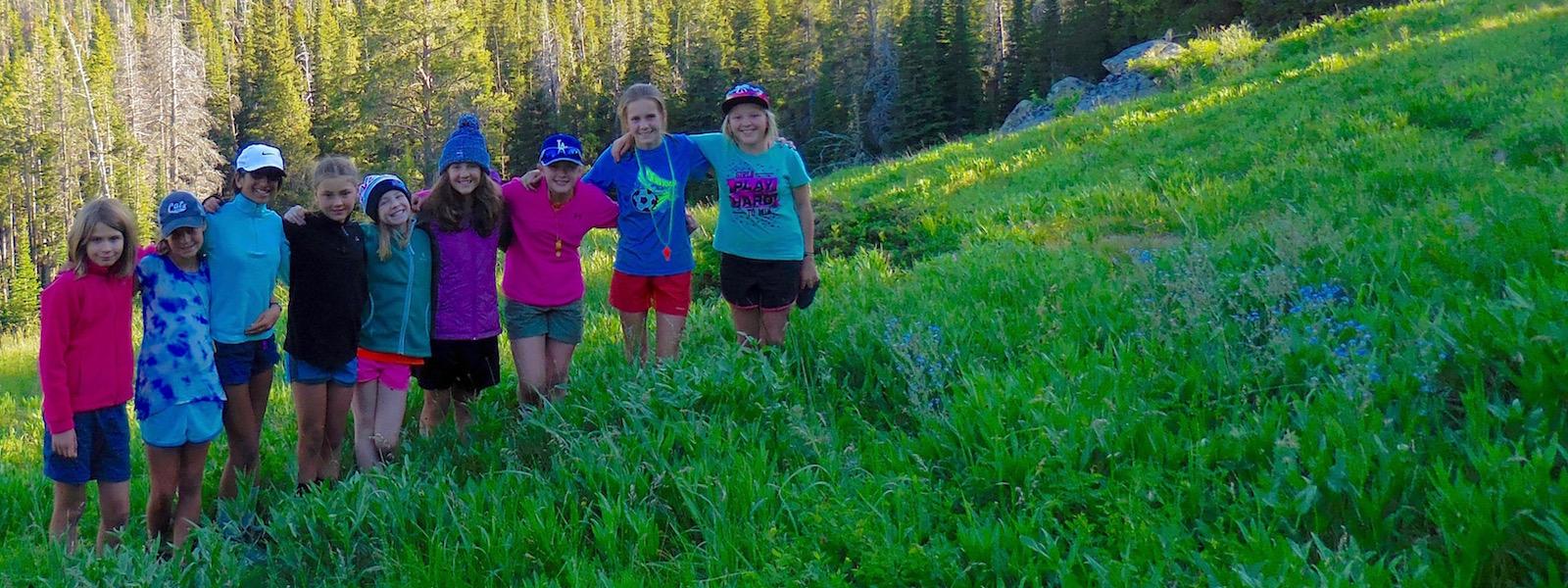 Montana Preteen Girls Camp