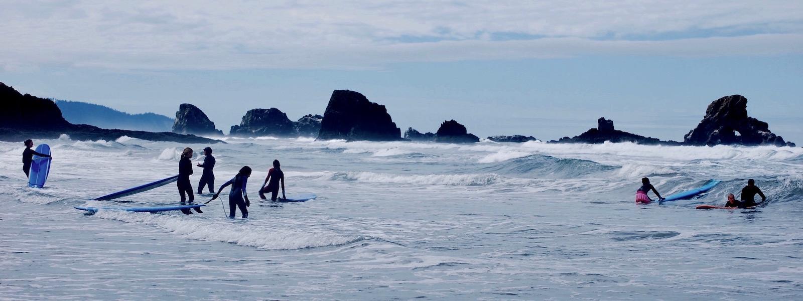 Oregon Girls Surf Camp