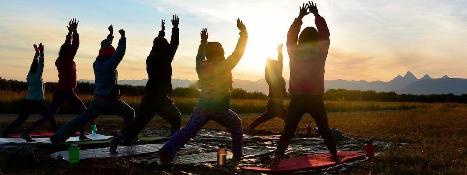Summer Teen Girls Yoga Camp