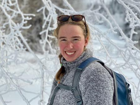 Ellie an Alpengirl camp guide and leader
