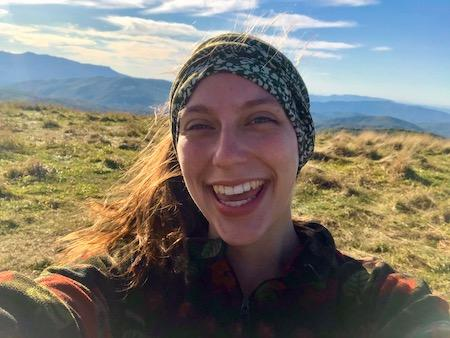 Rose an Alpengirl camp guide and leader