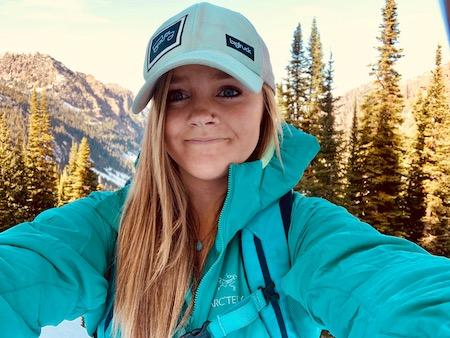 Sarah an Alpengirl camp guide and leader