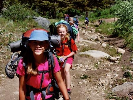 Girls Backpacking Trip