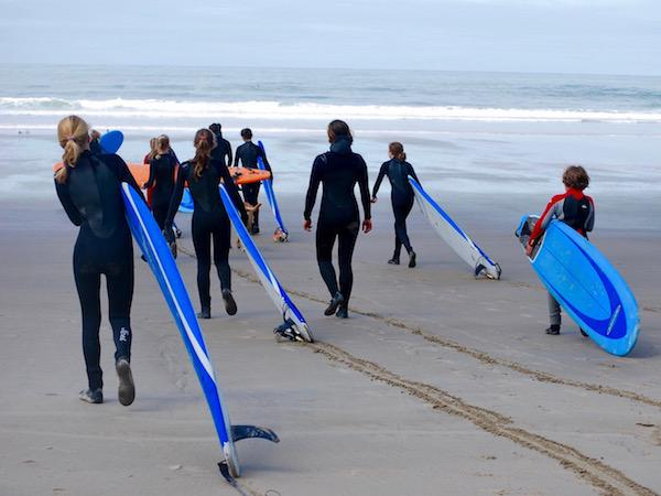Girls Surf School and Camp