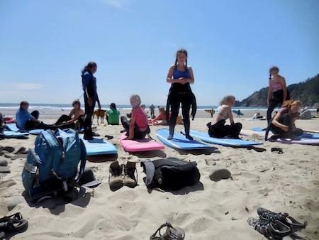 Summer Camp Beach Oregon