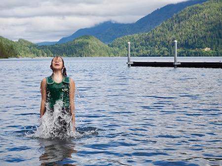 Girls Swim Mountain Camp