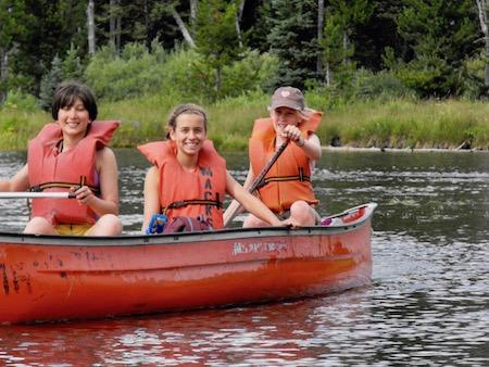 Summer Camp Canoe Trip