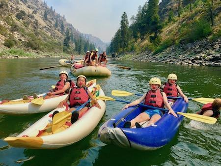 Silly Rafting Summer Camp