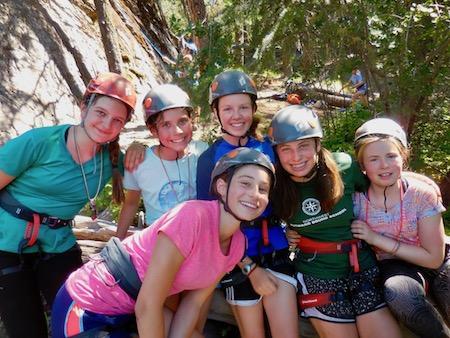 Girls Rock Climbing Camp Mt Erie