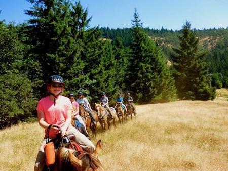 Teen Horseback Riding