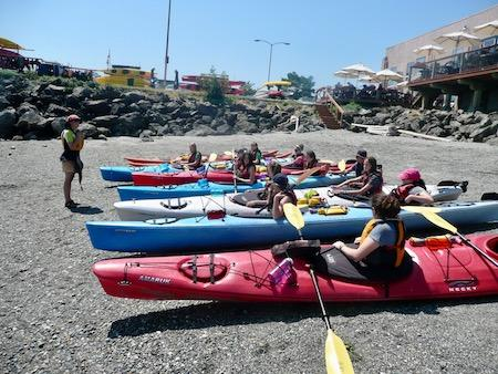 Sea Kayak Lesson Summer Camp