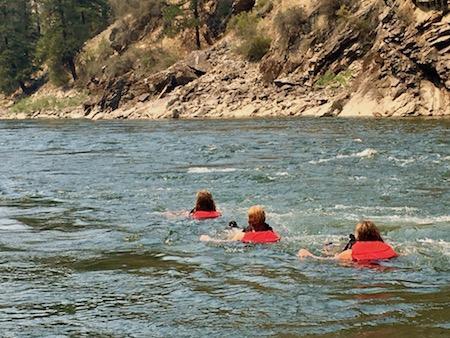 Floating Rapids Girls Camp