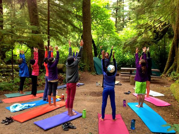 Girls Summer Camp with Yoga