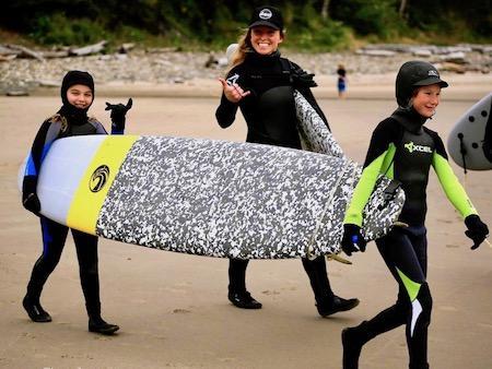 Teen Girls Surf Camp