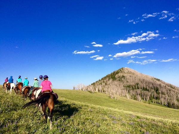 Girls Horseback Riding Camps