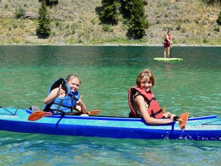 Girls Kayak Montana