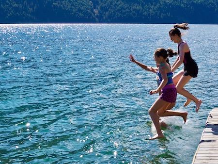 Ross Lake Teenage Girls Trip