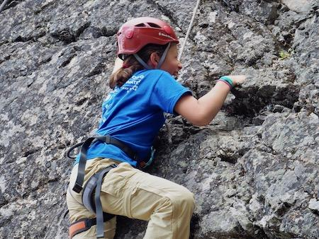 Summer Rock Climbing Teen Girls Empowerment