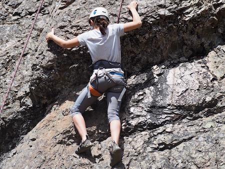 Girls Rock Climbing Camp Youth Skills