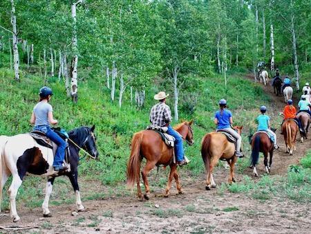 Summer Camp Horse Pack Trip
