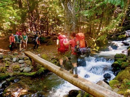 Summer Camp Backpack Teens