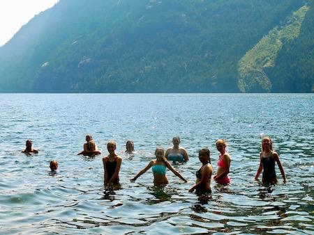 Ross Lake Swimming Summer Camp