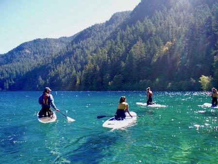 Paddleboard Girls Camp