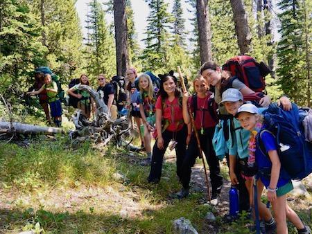 Backpacking Trip Idaho