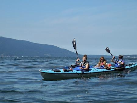 Kayak San Juans Girls Camp