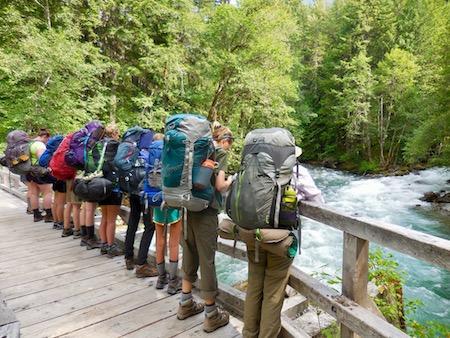 Backpacking Trip Montana
