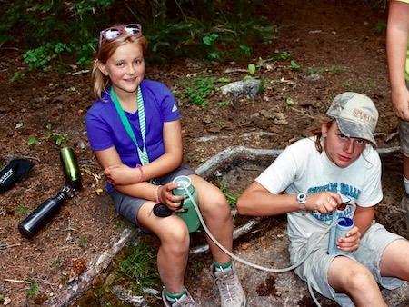 Olympics Summer Hike Girls