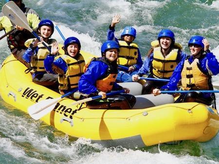 Teen Girls River Adventure