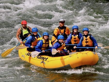 Raft Guide Teen Girls